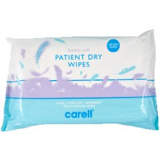 Suché hygienické utěrky Carell Patient Dry Wipes - Feather soft 100